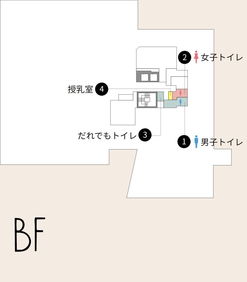 BFのフロアマップ